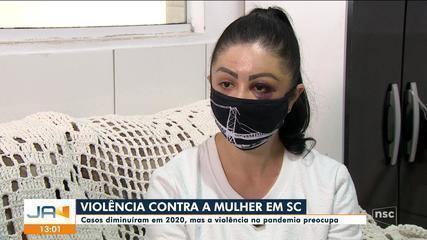 Apesar da queda no n° de casos, violência contra mulher preocupa