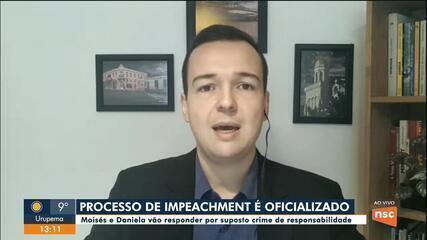 Alesc oficializa abertura de processo de impeachment contra governador de SC