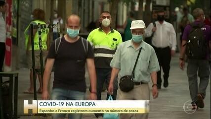 Espanha registra recorde de casos de Covid-19 em 24 horas desde o relaxamento do lockdown
