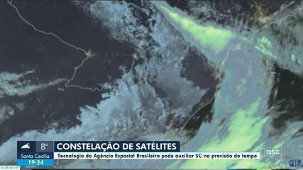 Tecnologia espacial está em avaliação em SC para prevenção de fenômenos climáticos