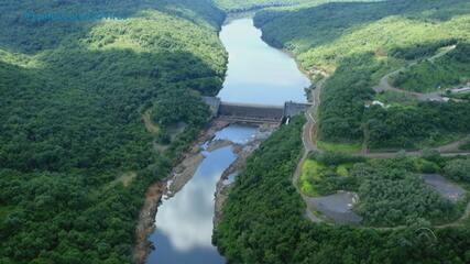 Moradores das margens do Rio das Antas são removidos para conserto de fissura em barragem
