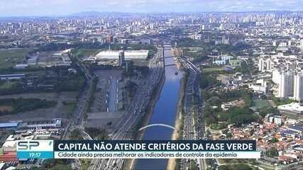 Capital está há um mês na Fase Amarela do Plano São Paulo