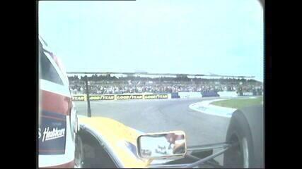 Volta de Nigel Mansell no GP da Inglaterra de 1992 pela câmera onboard