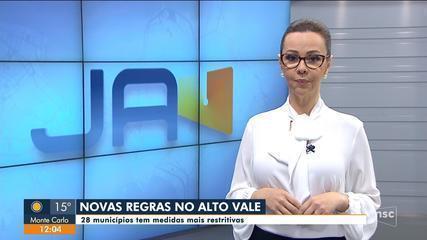 Municípios do Alto Vale do Itajaí adotam novas regras