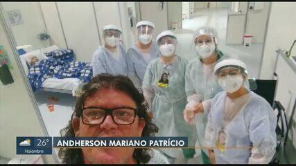 Coronavírus: paciente de Santa Bárbara d'Oeste homenageia profissionais da saúde