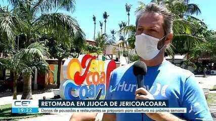 Vila de Jericoacoara se prepara para receber turistas