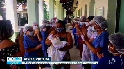 Maternidades se adaptam para proteger mães e bebês do coronavírus