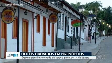 Decreto permite retomada do turismo em Pirenópolis