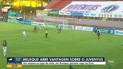 Brusque e Chapecoense estão a um empate da decisão do Campeonato Catarinense