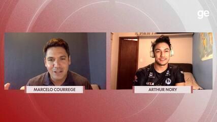 Chamada Olímpica: Marcelo Courrege entrevista Arthur Nory