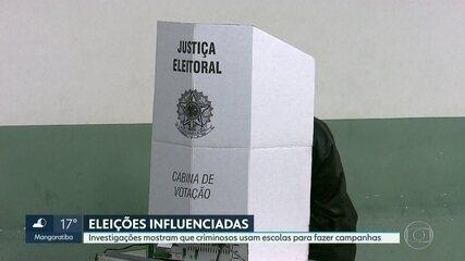 Investigações mostram como criminosos influenciam votos nas eleições