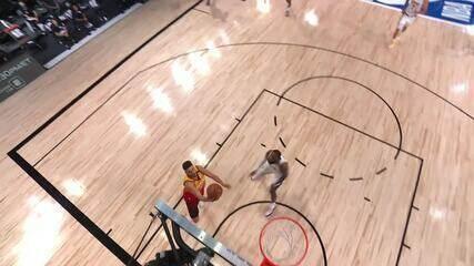 Veja o top 10 de jogadas da noite da NBA