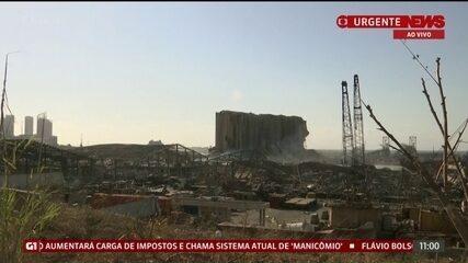 Governo do Líbano coloca funcionários do porto de Beirute em prisão domiciliar