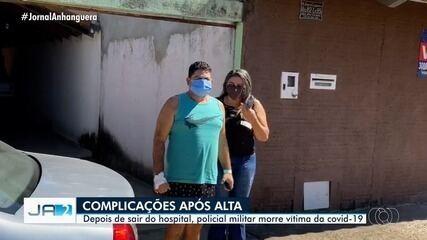 Após complicações pela Covid-19, policial militar morre em Goiás