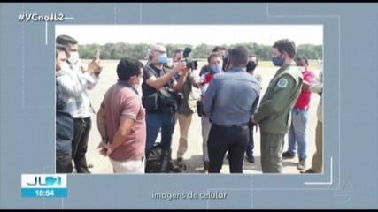 Ministro do Meio Ambiente Ricardo Sales visita Jacareacanga, no PA