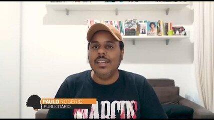 Paulo Rogério fala sobre o racismo