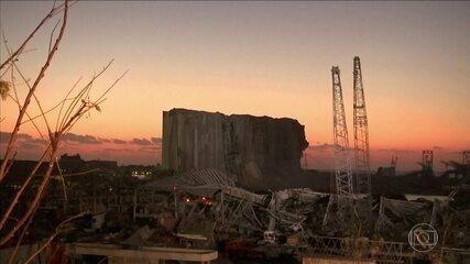 Número de mortos em explosão no porto de Beirute chega a 145