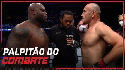 UFC Lewis x Oleynik: Palpitão do Combate