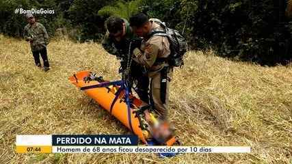 Idoso de 68 anos é resgatado de mata em São João D'Aliança