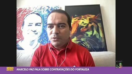 "Presidente do Fortaleza confirma busca por nova peça: ""Volante camisa 5"""