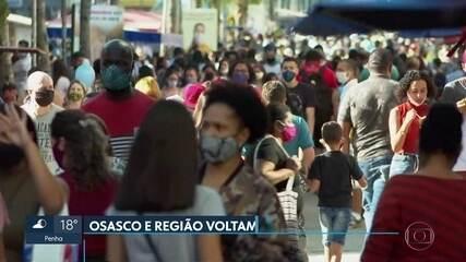 Osasco e região voltam para a fase 2-laranja do Plano São Paulo