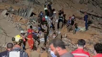 Três dias depois da explosão em Beirute, governo levanta a suspeita de ataque