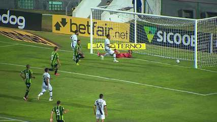 Melhores momentos de Ponte Preta 0 x 1 América-MG, pela Série B do Campeonato Brasileiro