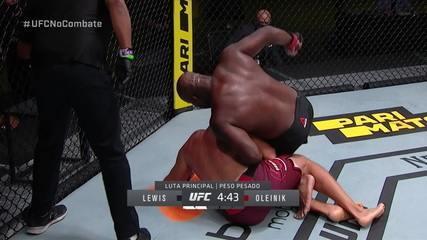 Melhores momentos de Derrick Lewis x Alexey Oleynik, pelo UFC Lewis x Oleynik