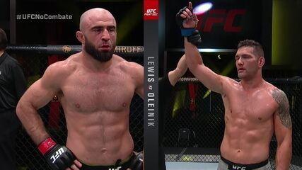 Melhores momentos de Omari Akhmedov x Chris Weidman, pelo UFC Lewis x Oleynik