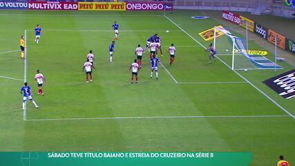 Cruzeiro estreia na Série B com vitória sobre o Botafogo-SP