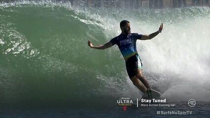 Felipe Toledo pega onda incrível e consegue 9,67 na final do Desafio de Ondas Artificiais