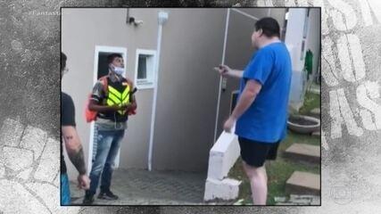 VÍDEO: homem que humilhou entregador já se envolveu em confusão no condomínio