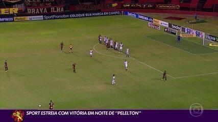 Sport vence o Ceará e inicia a Série A com tranquilidade