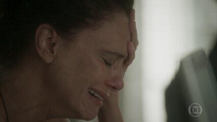 Rosângela e Florisval se desesperam com diagnóstico de Wesley