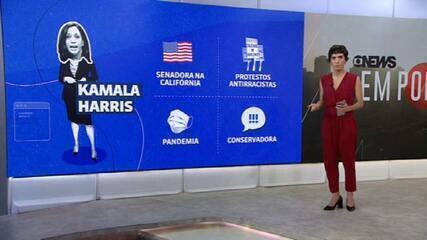 Saiba quem é Kamala Harris, a vice do democrata Joe Biden