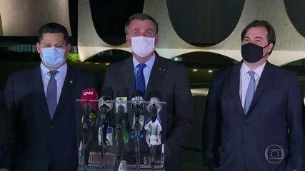 Em agosto, Bolsonaro fez discurso por controle de gastos e privatizações; plano não saiu do papel