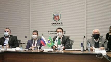 Paraná assina carta de intenções com laboratório russo que produzirá vacina contra Covid