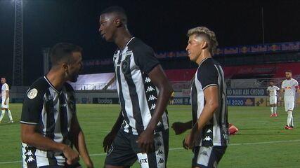 Melhores momentos: Bragantino 1 x 1 Botafogo pela 2ª rodada do Campeonato Brasileiro 2020