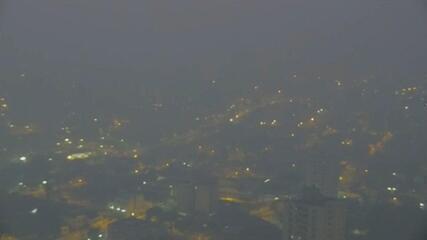 Fumaça de queimadas do Pantanal atinge Cuiabá (MT)