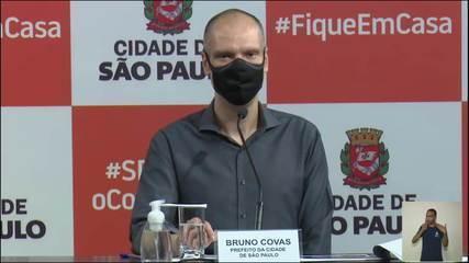 Covid-19: 10,9% da população da capital paulista já se infectaram