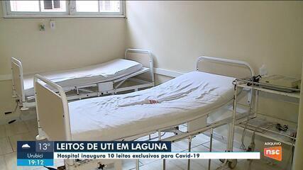 Depois de mais de 10 anos, hospital de Laguna vai contar com leitos de UTI