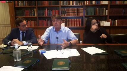 Bolsonaro: 'Debate sobre furar o teto de gastos existe no governo, qual o problema?'