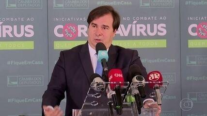 Rodrigo Maia afirma que vai tentar convencer Bolsonaro a enviar a reforma administrativa