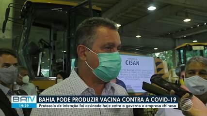 Bahia pode produzir vacina contra a Covid-19; confira