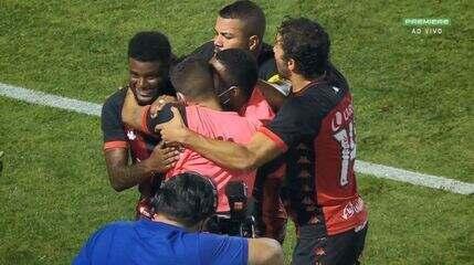 Os gols de Ponte Preta 3 x 3 Vitória, pela 3ª rodada da Série B