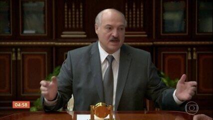 Aumenta a pressão sobre o recém-reeleito presidente da Belarus