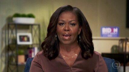 Michelle Obama faz duros ataques a Donald Trump na Convenção do Partido Democrata