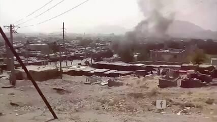 Vários foguetes atingem o principal distrito diplomático em Cabul