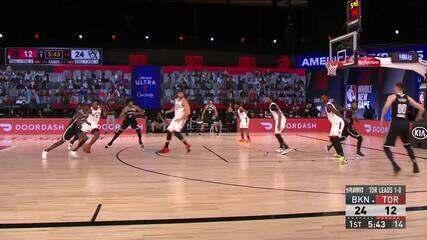 Melhores momentos: Toronto Raptors 104 x 99 Brooklyn Nets pela NBA