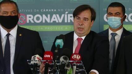 'Não tem nada contra o servidor', diz Rodrigo Maia sobre veto a reajuste